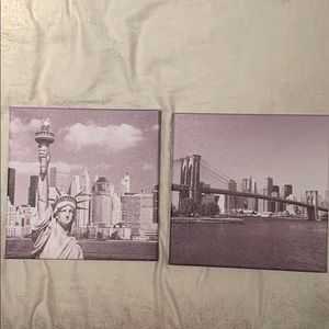Other - Set of 2 New York City Photographs
